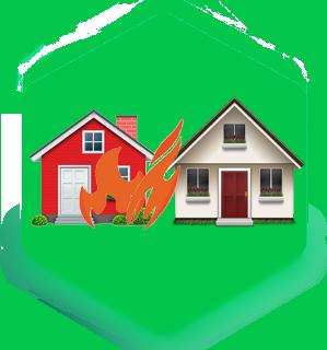 بیمه مسئولیت سرایت آتشسوزی به همسایگان